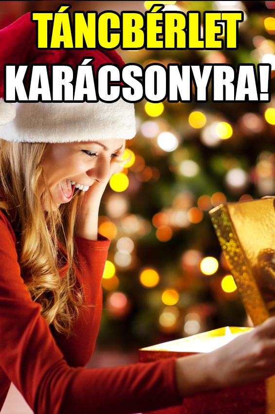 táncbérlet karácsonyra, karácsonyi tánctanfolyam